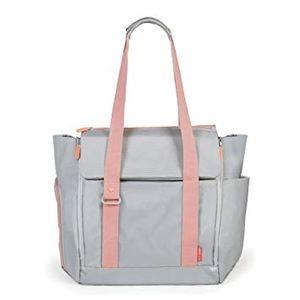 Skip Hop FIT All-Access Diaper Bag Pink Grey Coral